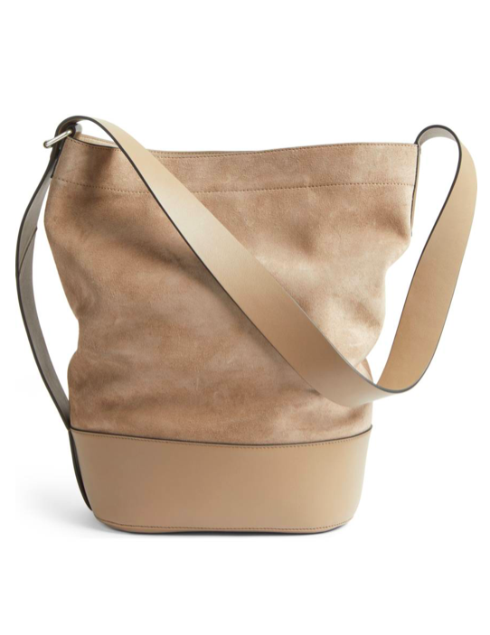 721ca3503892 Suede Bucket Bag