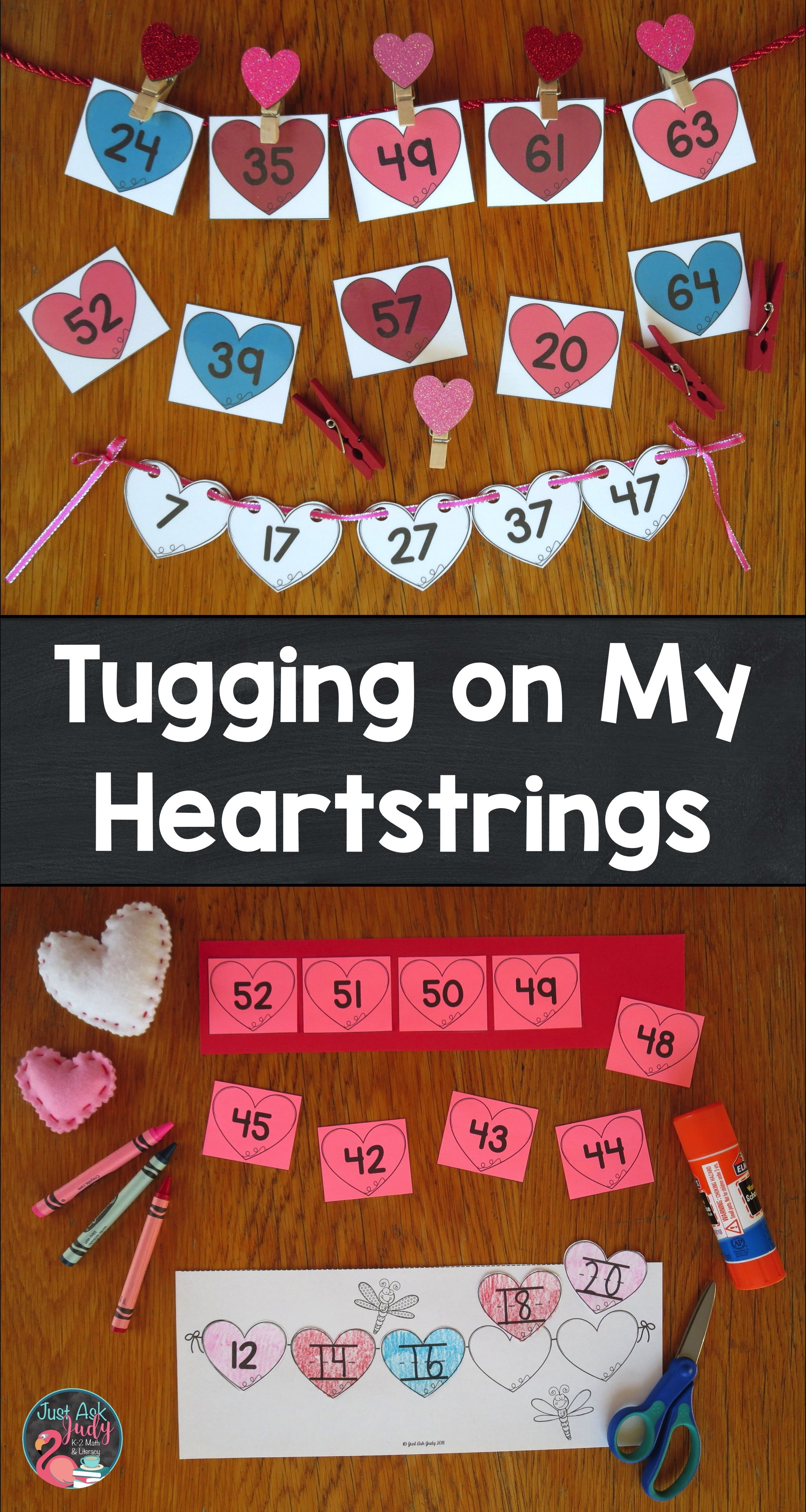 Ordering Numbers 0-120 Tugging on My Heartstrings | Math ...