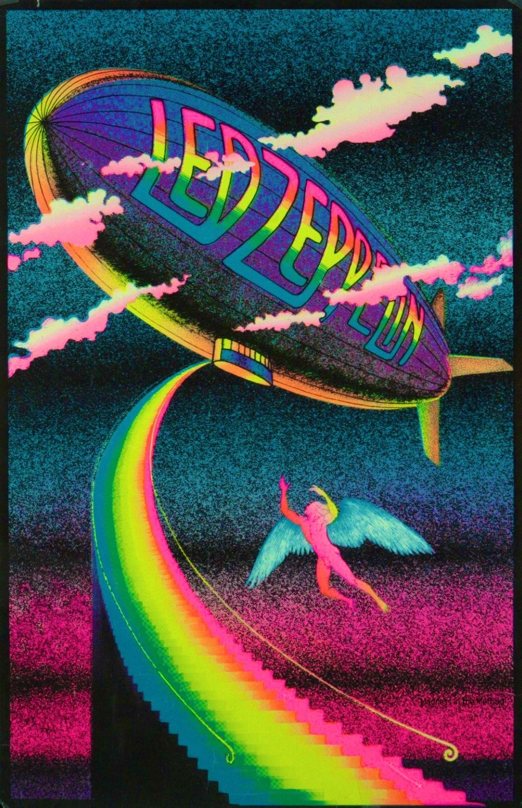 Random In 2020 Zeppelin Art Rock Band Posters Led Zeppelin Poster