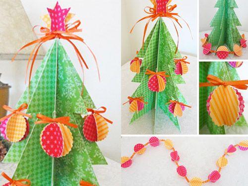 Arbol de Navidad con adornos | Wefreebies http://www.wefreebies.com/arbol-de-navidad-con-adornos/