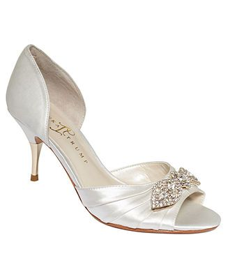 Ivanka Trump Shoes Nanci Evening Pumps Evening Bridal Shoes Macy S Ivanka Trump Shoes Bridal Shoes Pump Shoes