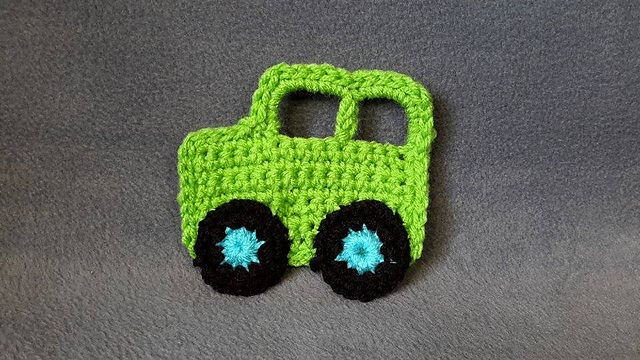 Cute And Cuddly Crochet Car Patterns Applique Pinterest
