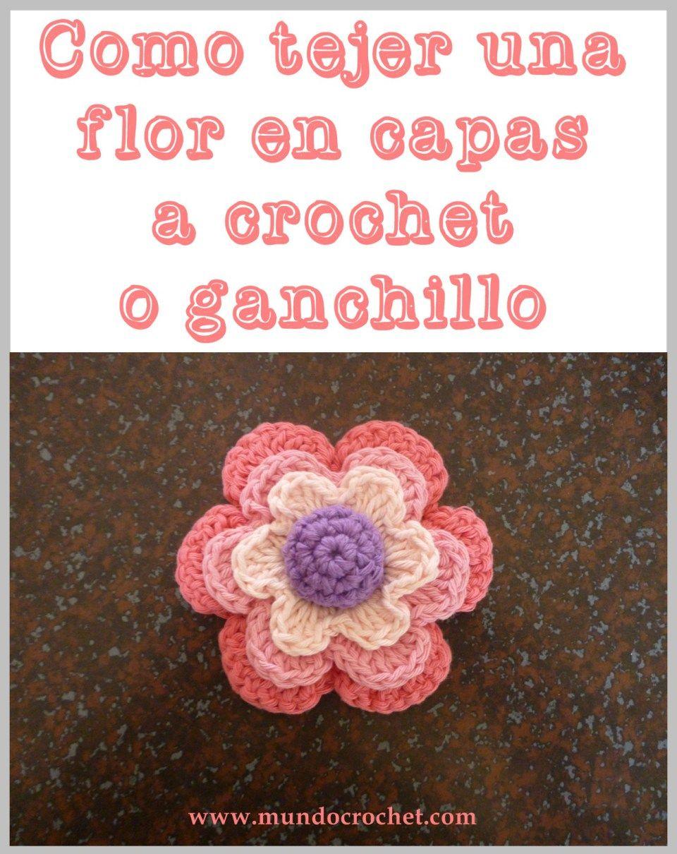 Como Tejer Una Flor En Capas A Crochet O Ganchillo00 Rose Flores Crochetflowers Pretty Flower Diagram Cat Crochetcrochet Appliqueshandmade Flowerscrochetingblanket Patternsbeautifulcrochet