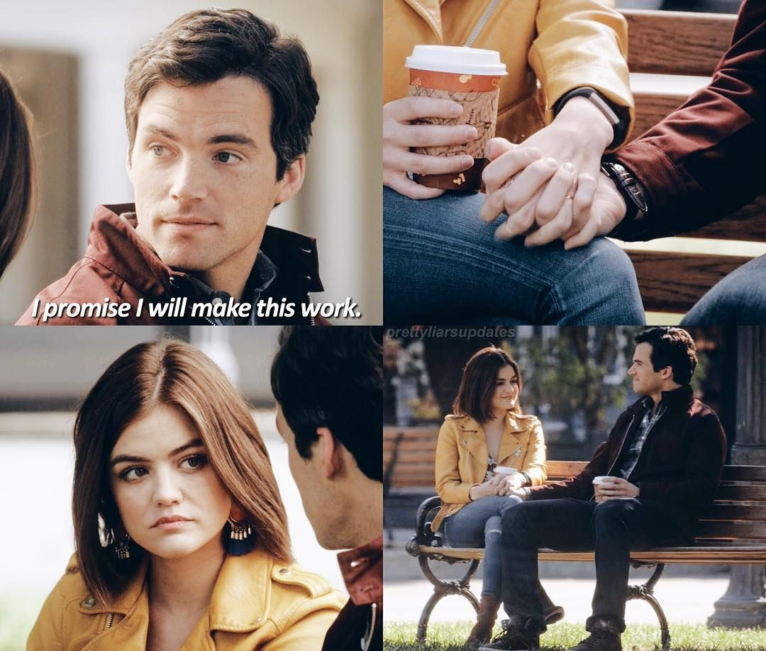 "#PLL 7x02 ""Bedlam"" - Aria and Ezra"