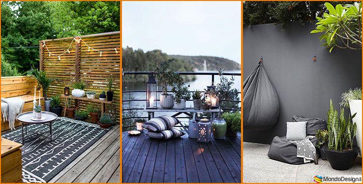 20 Idee Per Arredare Un Piccolo Terrazzo In Maniera Creativa Mondodesign It Piccola Terrazza Disegno Della Terrazza Decorazione Da Balcone