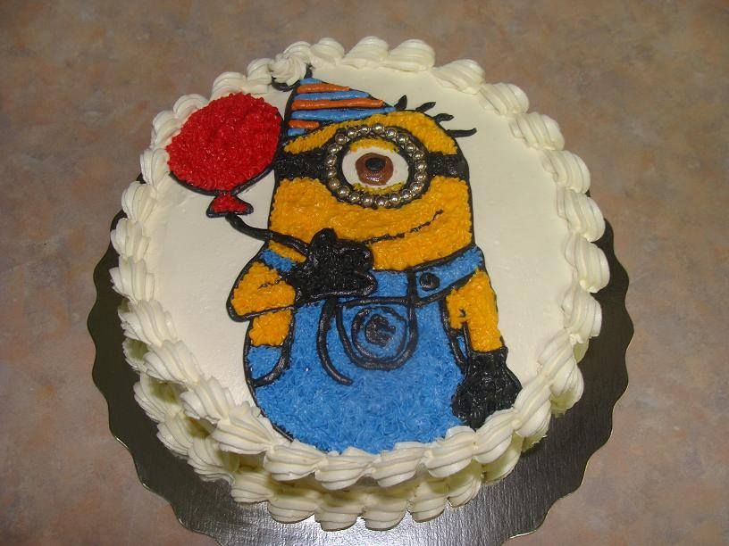 minion birthday cake | Minion birthday cake