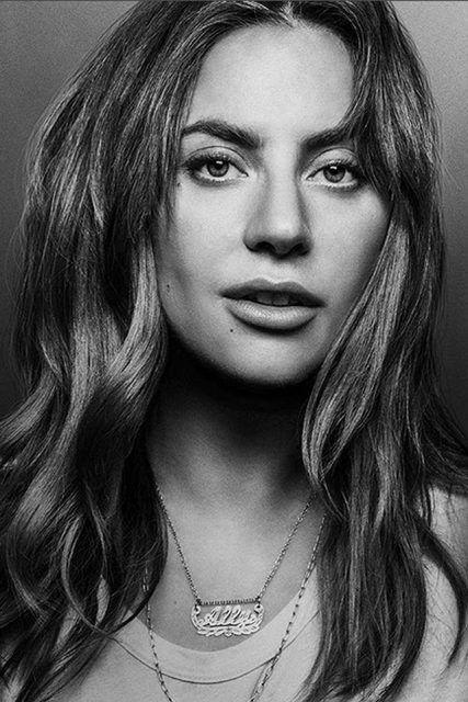 Lady Gaga Natural Makeup And Brown Hair In Her New Movie Lady Gaga Hair Lady Gaga Pictures Lady Gaga