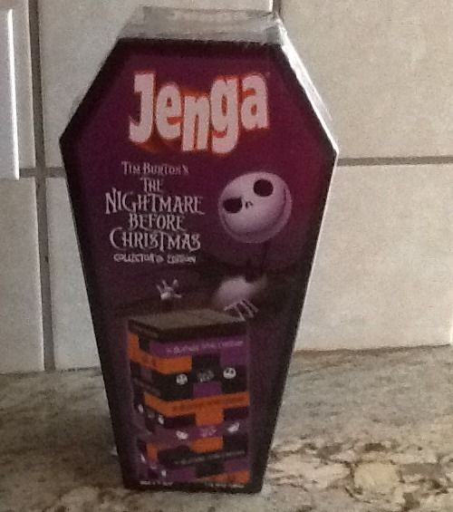 Nightmare Before Christmas Jenga Collectors Edition Game New Sealed NIB