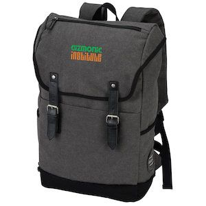 Your message is applicable to this custom embroidered backpack!