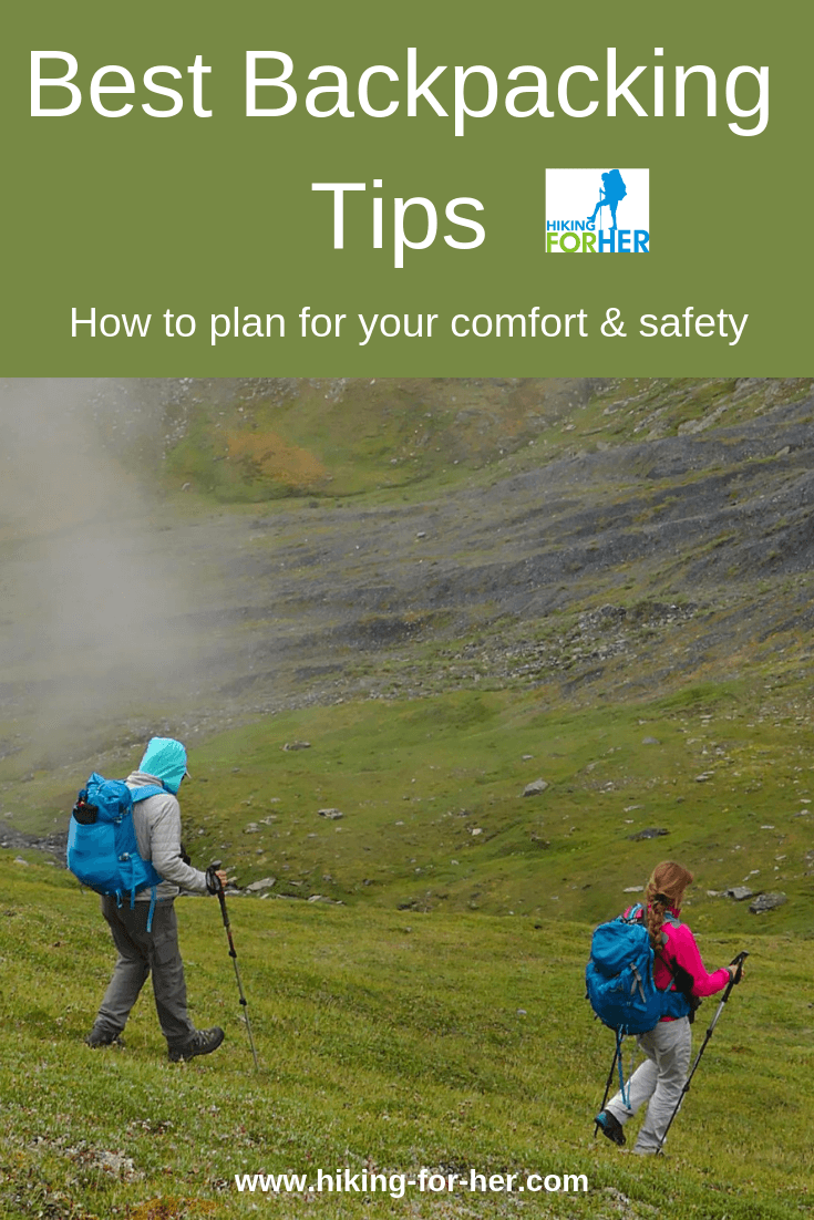 Hiking For Her s essential guide to planning a backpacking trip 10e6bde3e2