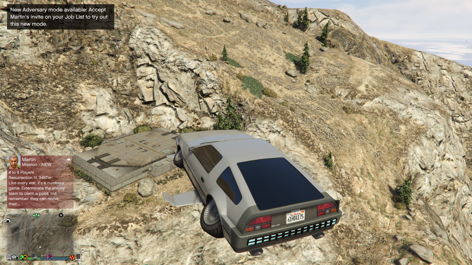 How long has this been here? Is it part of the Doomsday Heist