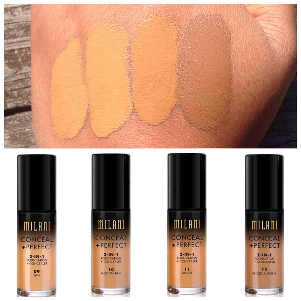 Milani Conceal + Perfect 2 in 1 Foundation + Concealer (9-12 ...
