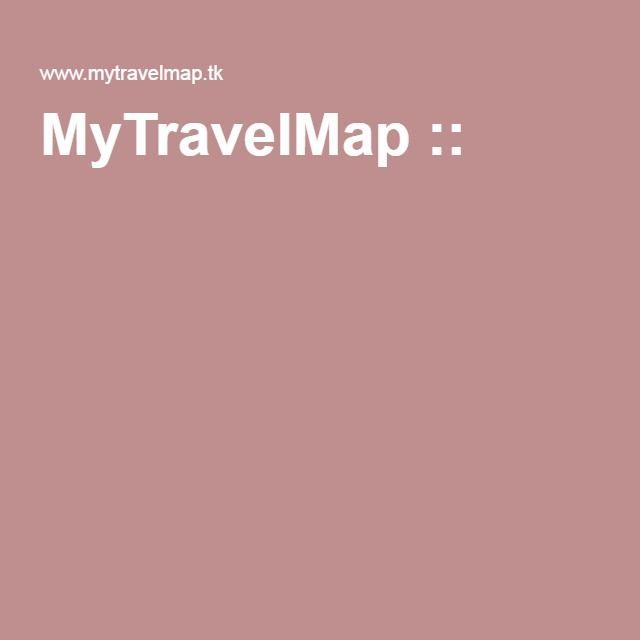 MyTravelMap ::