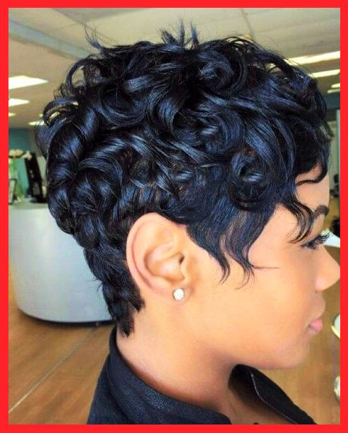 Schwarz Kurz Haare Locken Frisuren Haare Frisuren