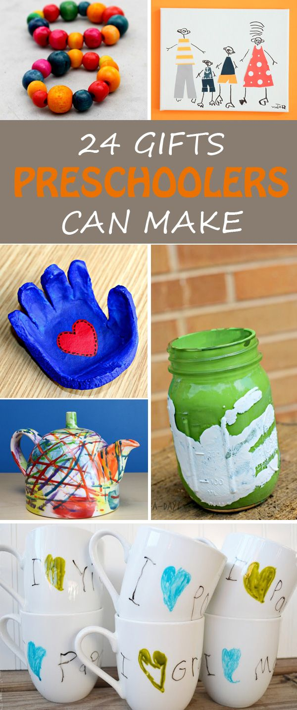 Homemade Christmas Gifts For Kids.24 Gifts Kids Can Make Toddler Preschooler Ideas