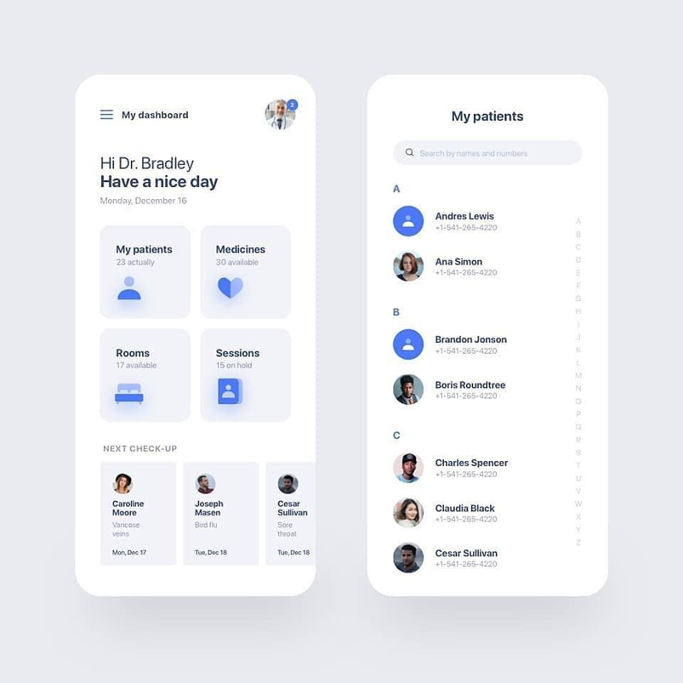 App design layout image by Rodion Bagyshov on Mobile Apps