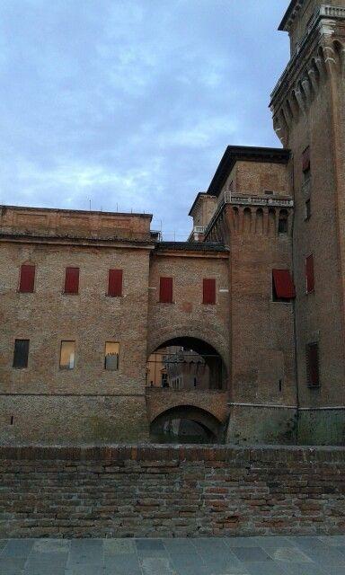 24.8.2015. Castello di Ferrara
