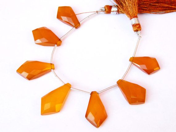 AAAQuality Honey Chalcedony Gorgeous by GemsPebblesandBeads, $30.00