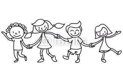 Kinder Freundschaft Ausmalbild I C O N Freundschaft Kinder