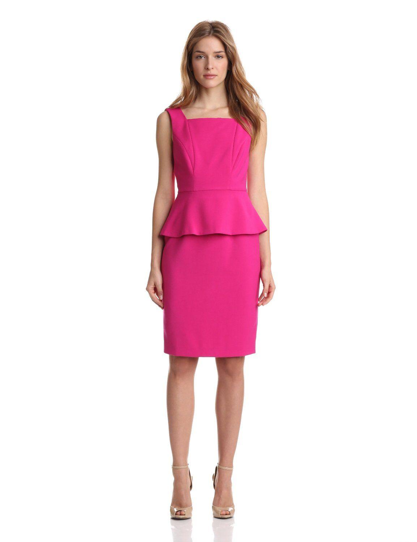 Anne Klein Women\'s Petite Peplum Sheath Dress ($84.93)   My Favorite ...
