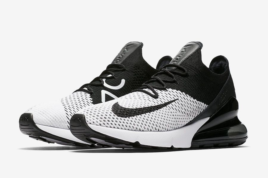 air max 270 flyknit nere