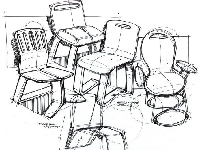 Chair Sketch chair ideation | ideation | pinterest | sketches and product sketch
