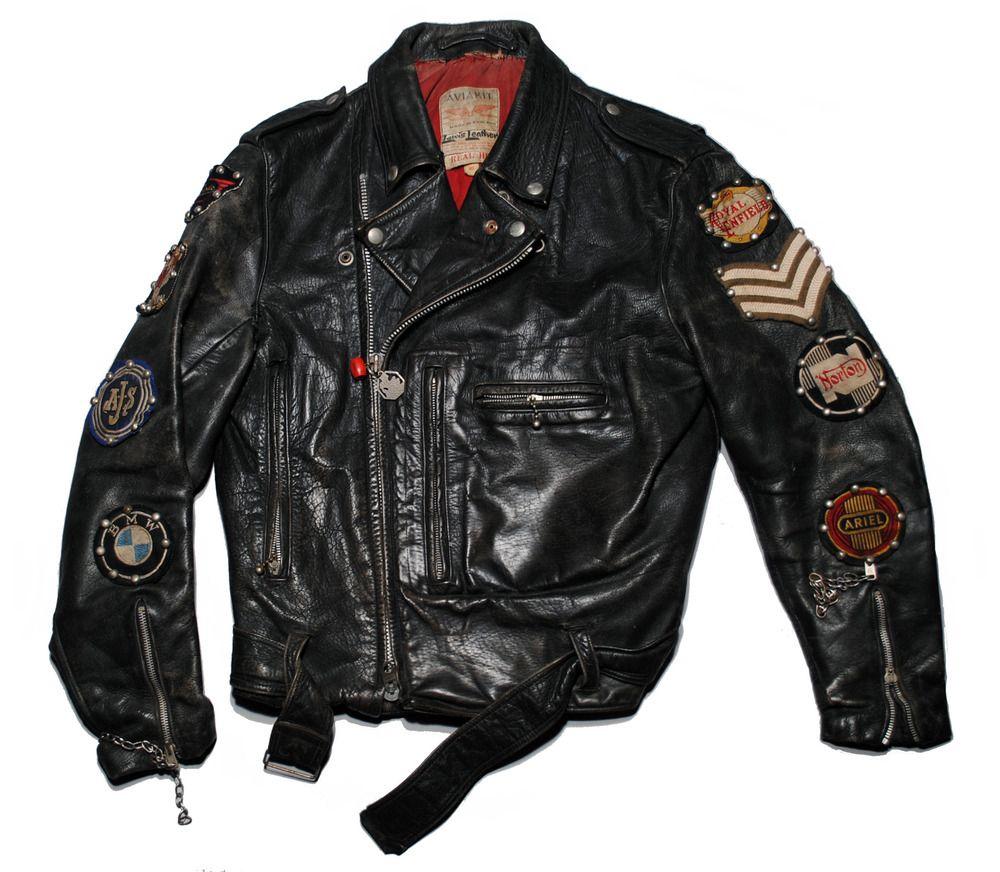 Lewis Leathers Vintage leather jacket, Leather jacket