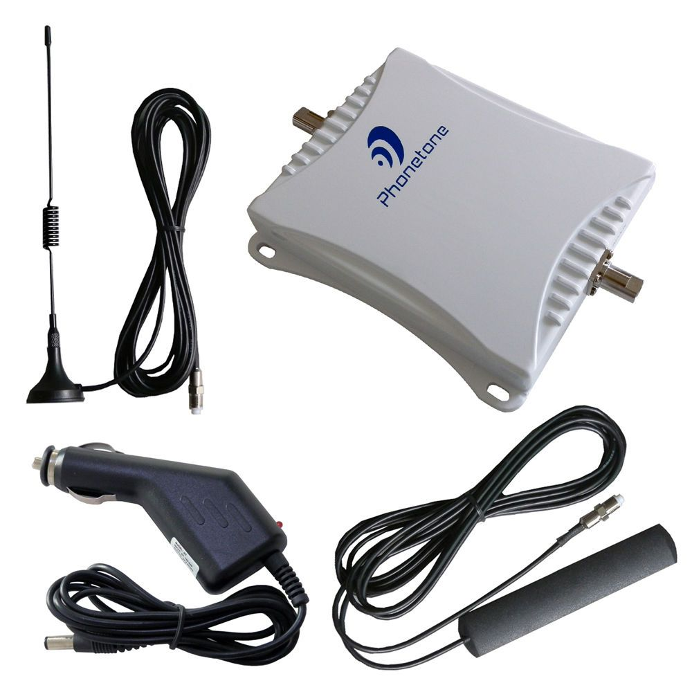 Cell phones amp accessories gt cell phone accessories gt chargers - For Car Gsm 3g Dcs 900mhz 1800mhz Cell Phone Mobile Signal Booster Repeater Kit
