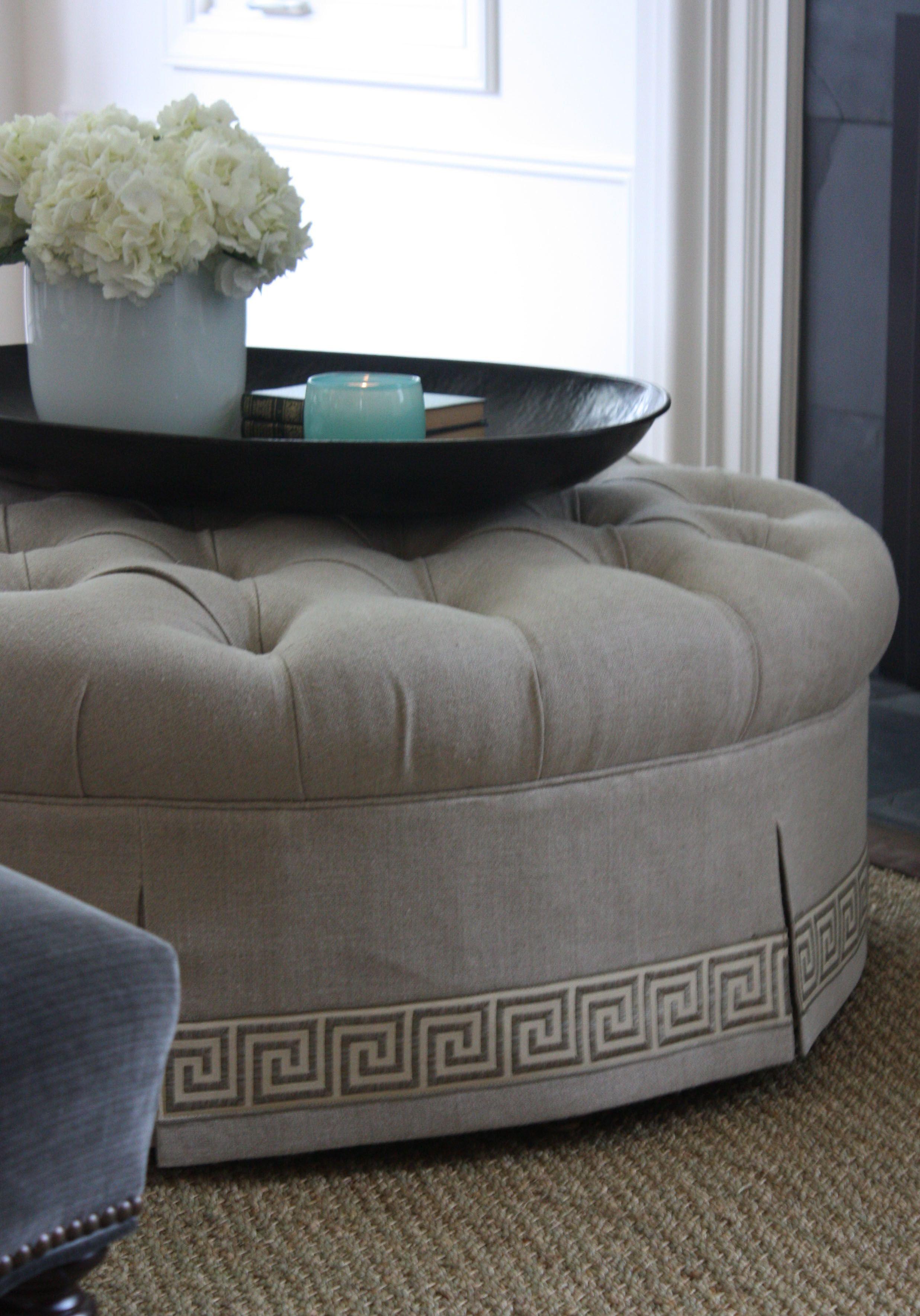 Marianne Simon Design With Images Home Decor Round Ottoman
