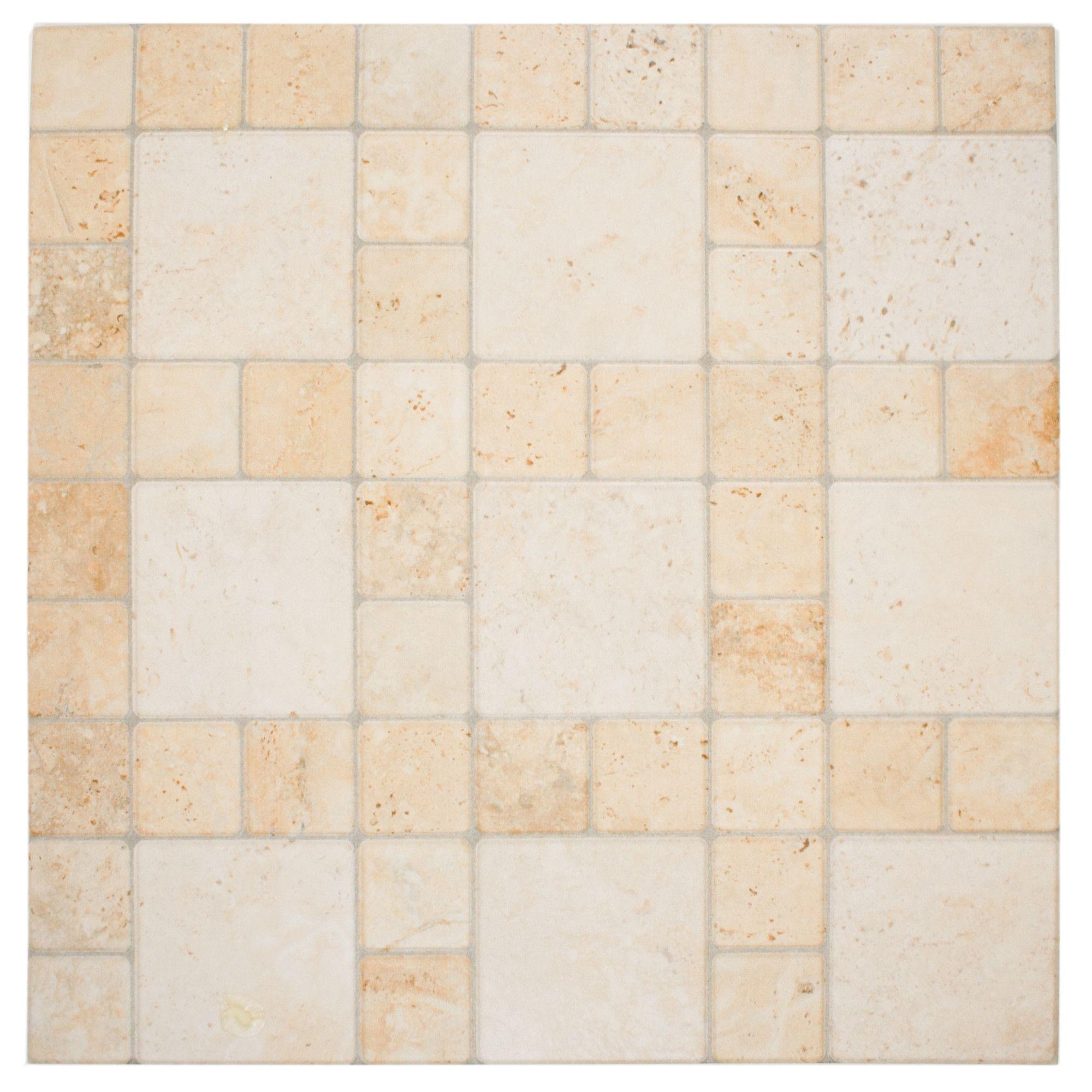 Globe 12 25 X Porcelain Field Tile In Por Marfil
