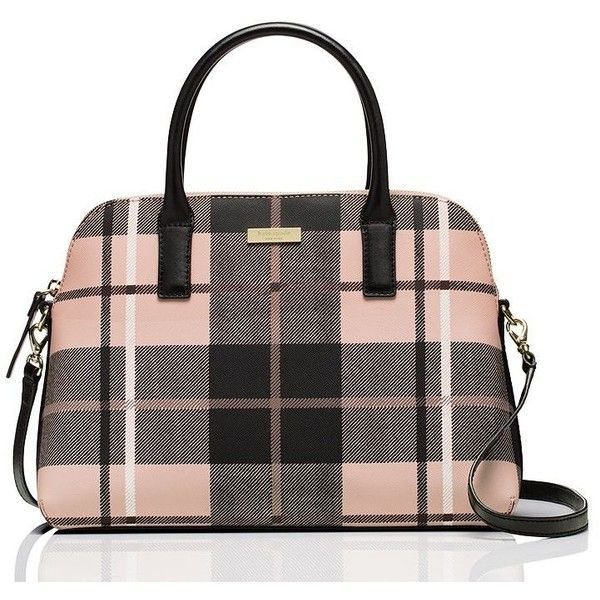 Kate Spade Grant Street Grainy Vinyl Small Rachelle ($278) ❤ liked on Polyvore featuring bags, handbags, vinyl bag, vinyl purse, kate spade handbag, kate spade and kate spade bags