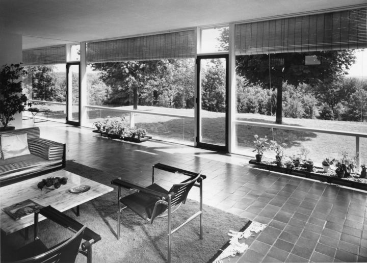 Edward larrabee barnes built a number of modern residences in westchester including his own home
