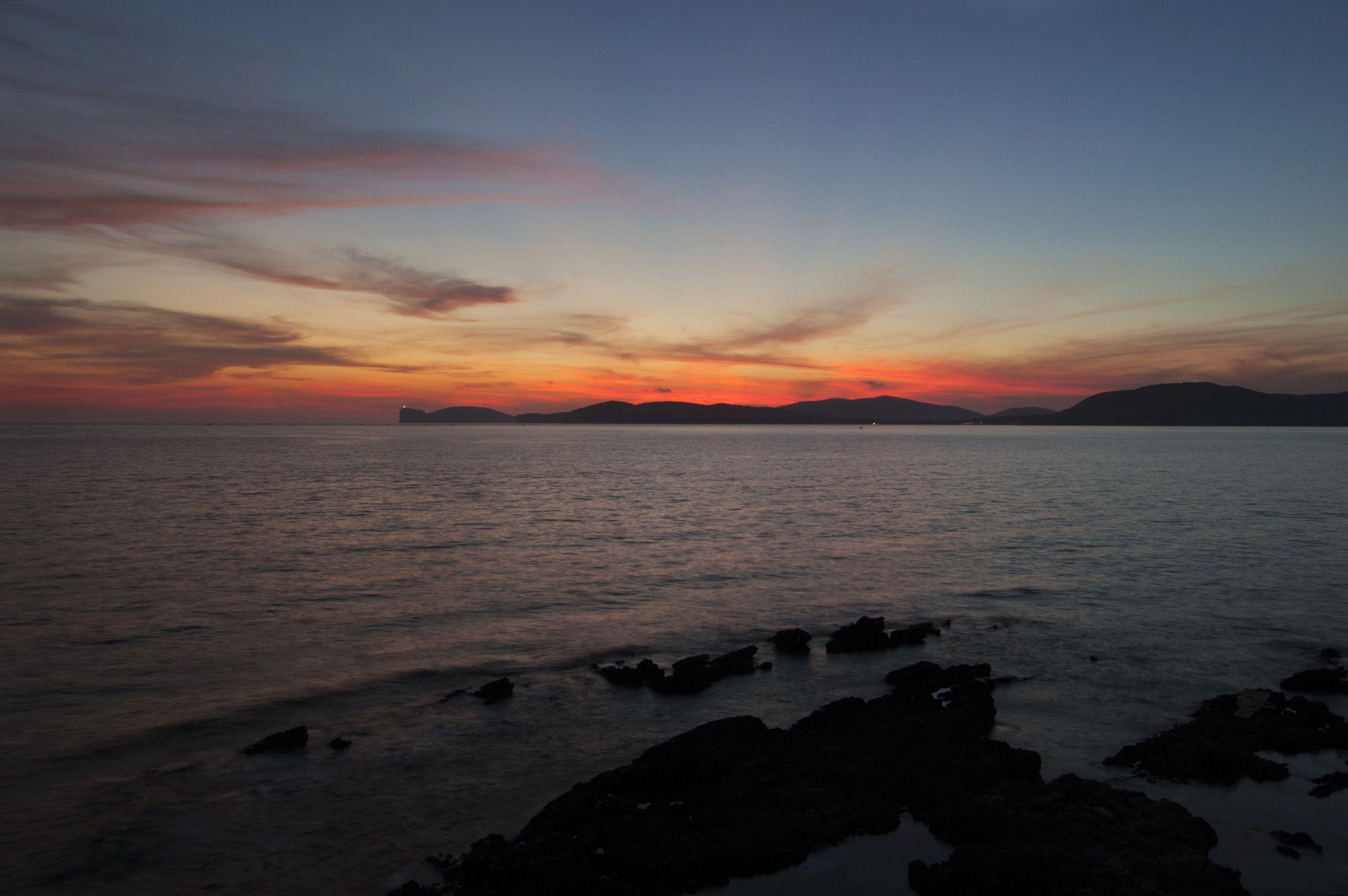 Sunset in Alghero, Sardinia