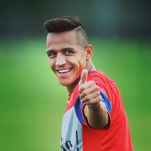 Alexis Sanchez In Training Today Getting Excited Arsenal Afc Coyg Sunderland Liverpool Latihan