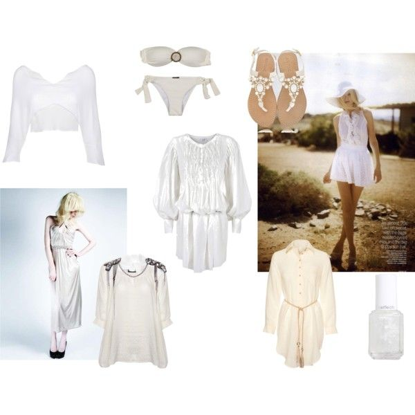 Gone all White, created by glam-net on Polyvore
