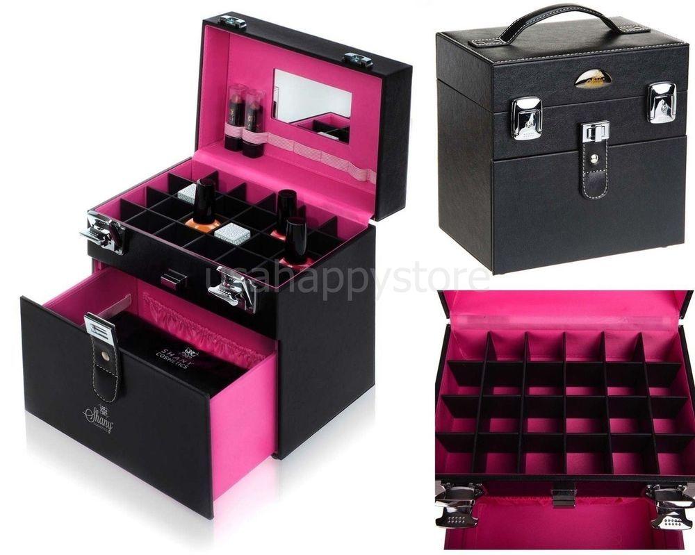 Nail Polish Travel Case Manicure Cosmetics Makeup Organizers Storage ...
