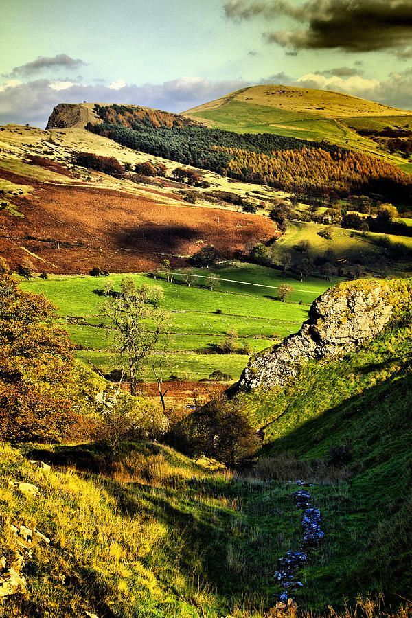 Lose Hill And Great Ridge by Darren Burroughs   Peak ...
