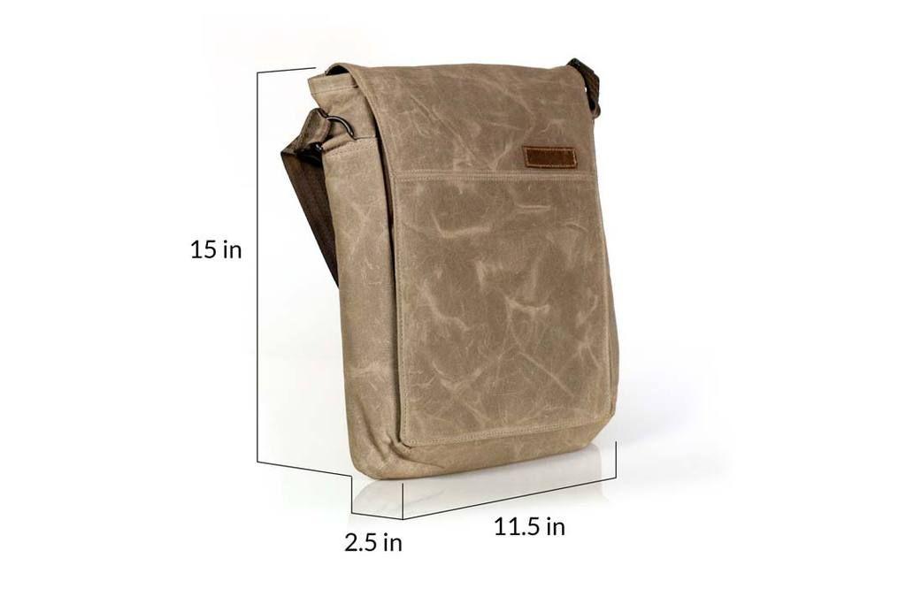 ... vertical messenger bags by TIm Gummer Design. Field Muzetto 29d66638b9