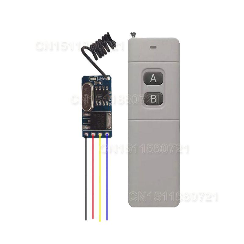 Mini Rf Rc Remote Control Switch 3v 3 6v 3 7v 4 5v 5v 6v 7 4v 9v12v Modern Lighting Wireless Micro Switch For Rc Toy He Helicopter Toy Rc Remote Remote Control