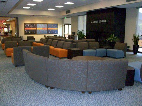 California State University Fullerton Alumni Lounge