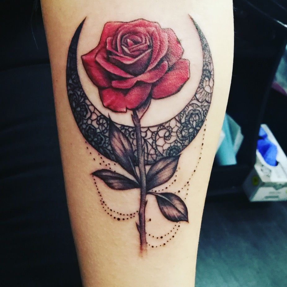 Sailor moon and Tuxedo mask inspired Dream tattoos