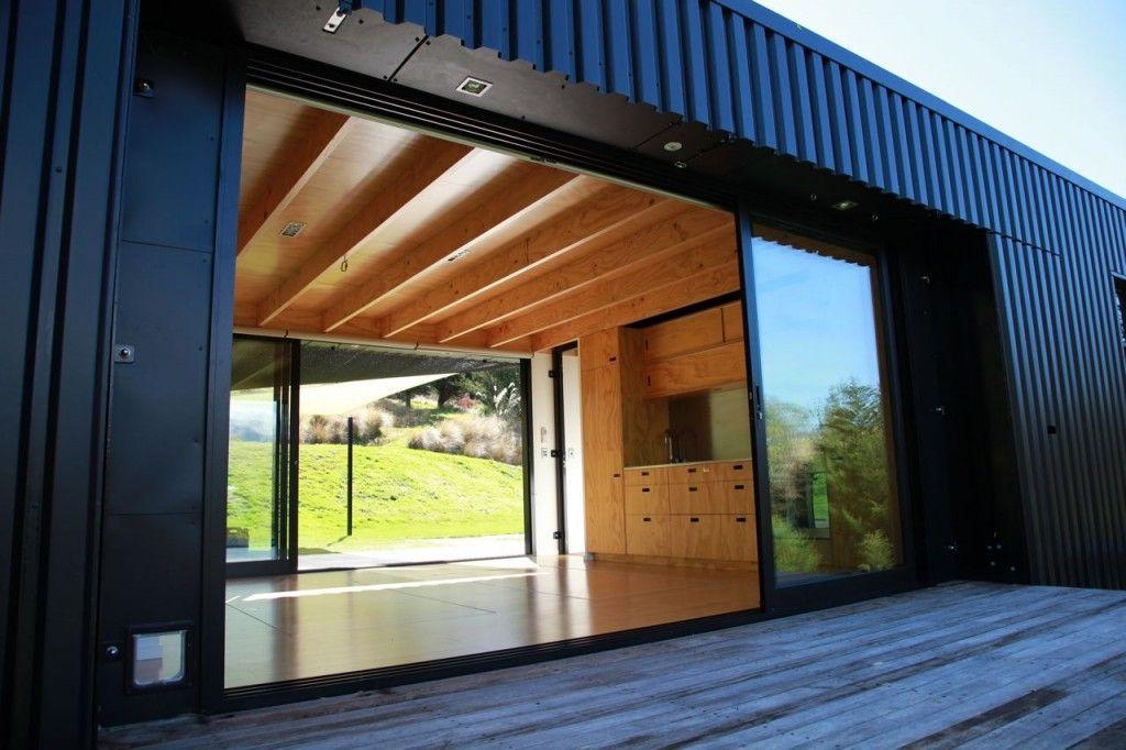 Steel Frame Transportable Prefab Home New Zealand Modern Prefab