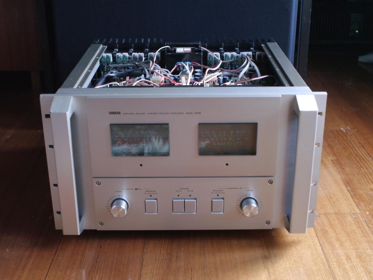 Yamaha 101m Power Amp 1982 Yamaha Audio Audio Amplifier Hifi