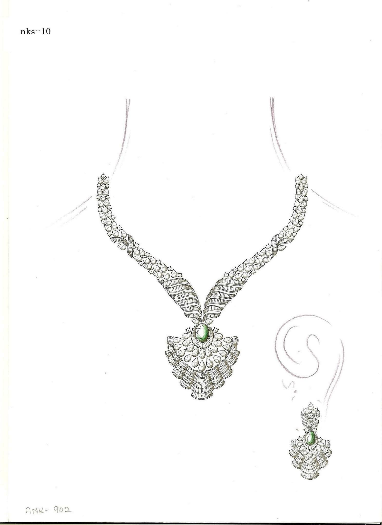 Pin by Janki Parekh on Jewelry | Jewelry, Jewelry drawing ...