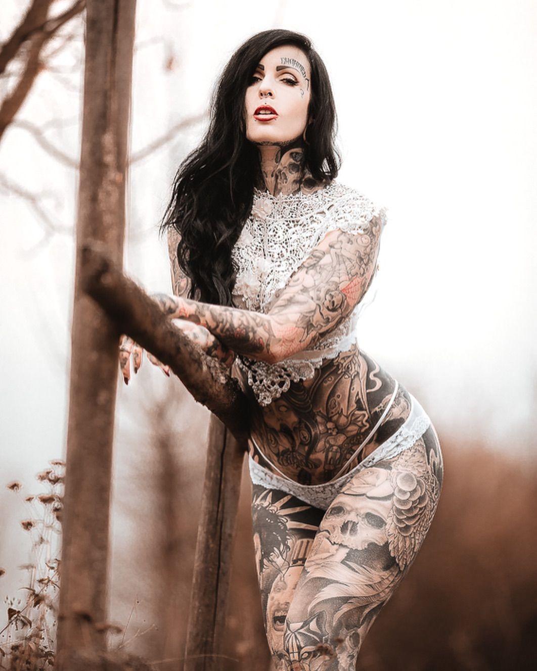 Full Bodysuit Tattoo Female