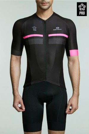 2017 Summer Cycling Jersey Men Pro Perseverance Pink Cycling