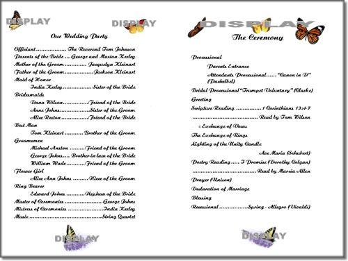 program sheet template program sheet template - Anta.expocoaching.co