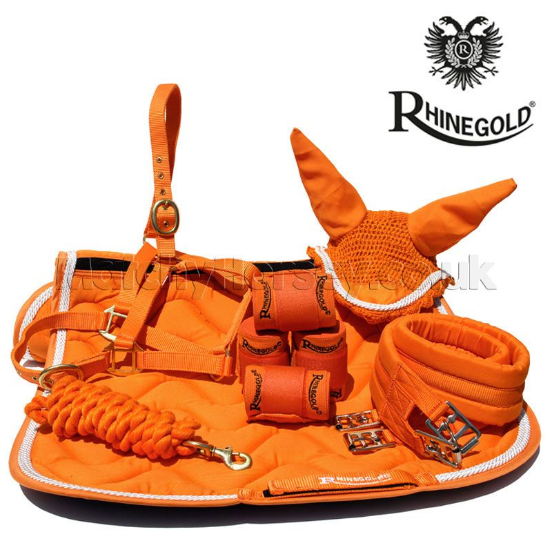 Rhinegold Tangerine Matching Set Matchy Horsey Equestrian Outfits Equestrian Helmet Equestrian