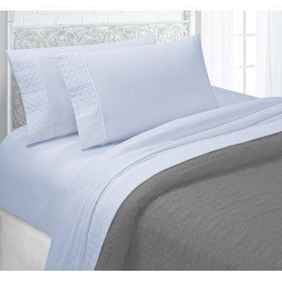 The Twillery Co Albrecht Sheet Set Wayfair Designer Bed Sheets Bed Sheet Sets Bed Sheets
