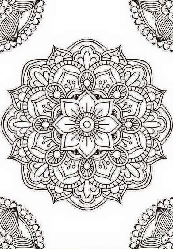 Mandala Para El Cuadro